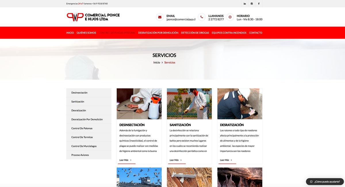 Empresas de control de plagas en Santiago de Chile
