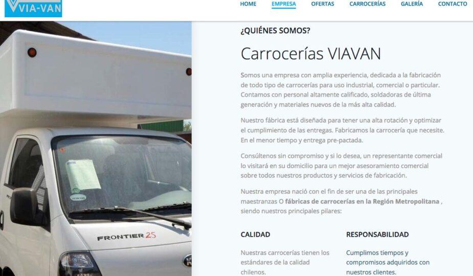 carrocerías para camiones en chile
